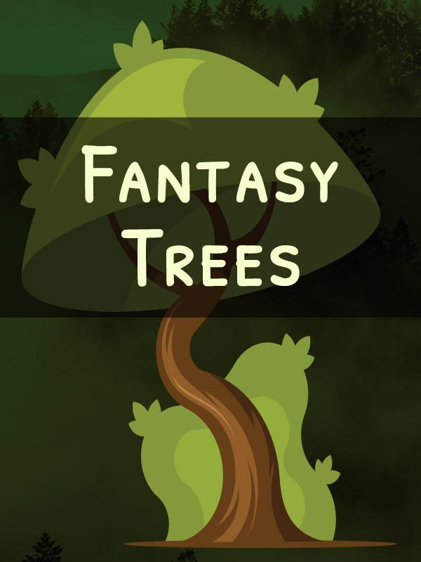 Miniature Fantasy Trees